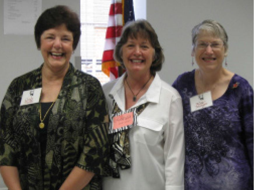 HCG Past Presidents include Cindy Haller, Nettie Wood, and Alice Morgan